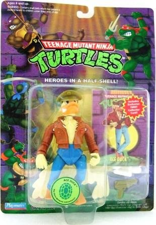 1994 - Play Mates - Teenage Mutant Ninja Turtles - Ace Duck - Toy Action Figure