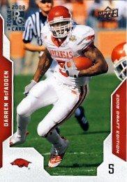 2008 - Darren McFadden - Upper Deck - Draft Edition - NFL Football - Rookie Card - #22