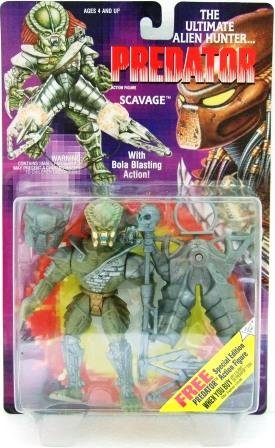 1993 Kenner Predator Series 1 Scavage Toy Action