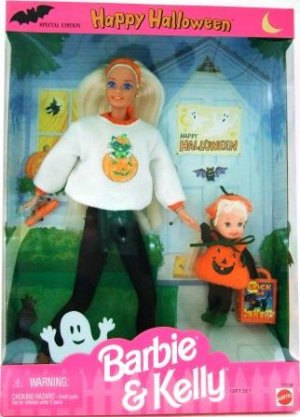 1996 - Barbie & Kelly - Happy Halloween - Special Edition - Gift Set