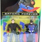 1995 - Transforming Bruce Wayne - DC Comics - Kenner - Batman Forever - Toy Action Figure