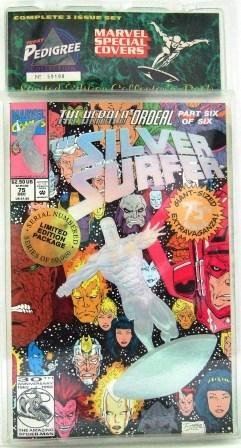 1993 - Marvel Comics - Silver Surfer  - Limited Edition Collector's Pack