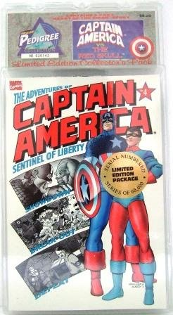 1992 - Marvel Comics - Captain America vs. The Red Skull - Limited Edition Collector's Pack