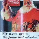 1993 - Collect-A-Card - Coca- Cola - Santa 1931 - Card # S-1