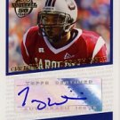 2005 - Troy Williamson - Topps - Football 50 Years - Autographed Rookie Card # T-TW