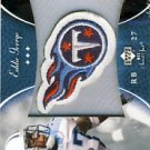 2003 - Eddie George - Upper Deck - NFL Sweet Spot - Souvenir Patch - #P-EG