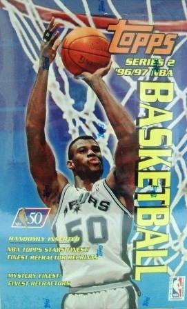 1996/97 - Topps - Series 2 - NBA Basketball - Sports Cards