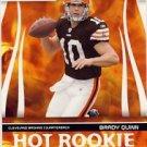 2007 - Brady Quinn - Donruss - Score - Hot Rookie - NFL Football - Rookie Card #HR-2