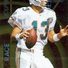 1995 - Dan Marino - Pinnacle - Arms Race - Card # 4 of 18