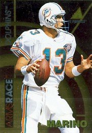 1995 - Dan Marino - Pinnacle - Arms Race - Card # 4 of 18