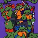 1990 - Mirage Studios - Teenage Mutant Ninja Turtles - Opened Playing Cards