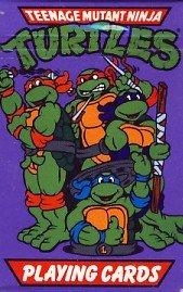 1990 - Mirage Studios - Teenage Mutant Ninja Turtles - Opened Playing Cards