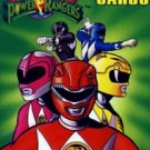 1994 - Saban Entertainment - Mighty Morphin - Power Rangers - Playing Cards
