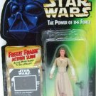 1997 - Princess Leia Organa - Action Figures - Star Wars - The Power of the Force - Freeze Frame