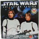 1997 - Star Wars - Rebel Alliance - Han Solo & Luke Skywalker - Collector Series - Toy Action Figure