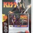 1997 - Die-cast Metal - Johnny Lightning - KISS - #3 Card - Paul Stanley Car