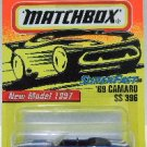 1997 - Matchbox - Super Fast - '69 Camero SS 396 - Limited Edition