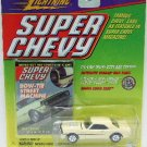 1999 - Johnny Lightning - Super Chevy - 1968 Yellow Camaro - Die-cast Metal Cars