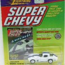1999 - Johnny Lightning - Super Chevy - 1963 White Corvette Grand Sport - Die-cast Metal Cars