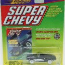 1999 - Johnny Lightning - Super Chevy - 1961 Black/Silver Conv. Corvette - Die-cast Metal Cars