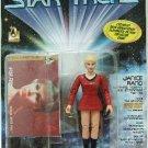 1997 - Playmates - Star Trek - The Original Series - Janice Rand - Toy Action Figure