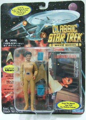 1996 - Playmates - Star Trek - Classic - Movie Series - Lieutenant Uhura - Toy Action Figure