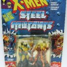 1994 - Marvel Comics - X-Men - Steel Mutants - Wolverine vs. Sabretooth - Die Cast Metal