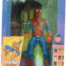 "1994 - Toy Biz - Marvel Comics - Spider-Man - Deluxe Edition - 10"" Spider-Man - Wall Hanging"