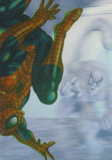 1995 - Marvel - Fleer Ultra - Spider-Man - HoloBlast - Spider-Man vs. Scorpion - #3 of 6