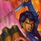 1995 - Marvel - Fleer Ultra - X-Men - Lethal Weapons - Psylocke - Limited Edition - #7 of 9