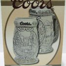 2000 - Brax Ltd. - Coors - Passage To Gold - Rocky Mountain Ironhorse Collection - Beer Stein