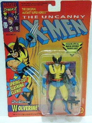 1993 - Toy Biz - Marvel Comics - X-Men - 2nd Edtion - Wolverine - Matching Card