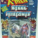 1994 - Marvel Comics - X-Men - Steel Mutants - Professor X vs. Magneto - Die Cast Metal