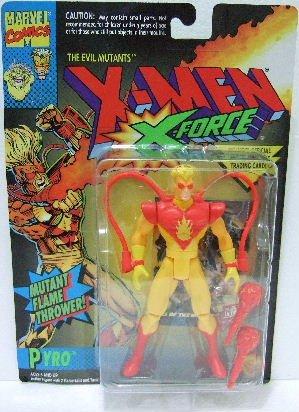 1994 - Toy Biz - X-Men - The Evil Mutants - X-Force - Pyro - Mutant Flame Thrower