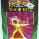 "1993 - Ban Dai - Mighty Morphin - Power Rangers - 3"" Yellow Collectible Figure"