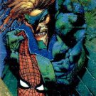1995 - Marvel - Fleer Ultra - Golden Web - Vulture - Simon Bisley - #9 of 9