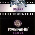 1995 - Fleer Ultra - Power Rangers - The Movie - Coldar - Power Pop-Up - #16 of 24