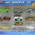 2004 - Mattel - Hot Wheels -10 Car Gift Pack