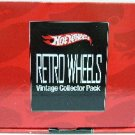 1996 - Hot Wheels - Retro Wheels - Vintage Collector Pack - Limited Edition - Set