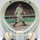"""Bradford - Babe Ruth - """"The Sultan Of Swat"""" - Yankee Stadium - 75th Anniversary - Collector's Plate"""