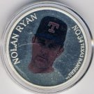 1966-1993  Enviro-Mint - Nolan Ryan - Farewell Season Commemorative - No. 00533 - Silver Medallion