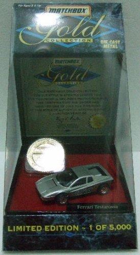 1996 - Matchbox - Gold Collection - Ferrari Testarossa - Limited Edition
