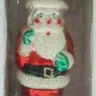 Hand-Crafted - Traditional Glass - Santa - Christmas Tree Ornament