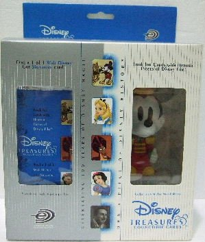 2004 - Upper Deck - Disney Treasures - Collectible Cards & Bandleader Mickey - Mini Bobbers