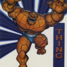 1994 - Marvel Cards - Universe - Thing - Suspended Animation - Acetate - #7 of 10