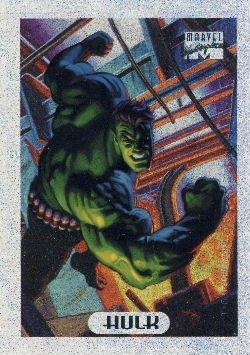 1994 - Marvel - Masterpieces - Hulk - Holofoil - #4 of 10