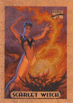 1994 - Marvel - Masterpieces - Scarlet Witch - Bronze Holofoil - #7 of 10