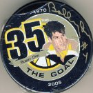 2005 - Bobby Orr - Signed - 35th Bruins Puck - Great North Road - Hockey Puck
