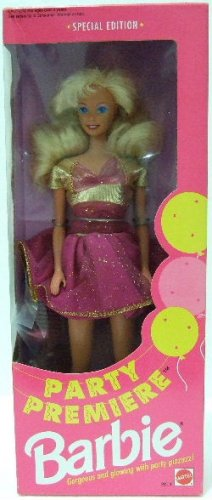 1992 - Mattel - Barbie - Party Premiere - Special Edition - Doll