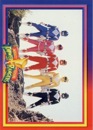 1994 - Mighty Morphin - Power Rangers - A Powerful Fighting Team - Card Set  #71